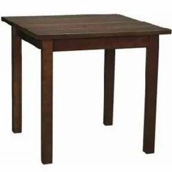 Dark Brown Designer Furniture Restaurant Table