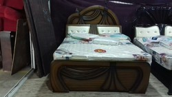 Curved Wooden Cot Bed