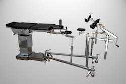 Operation Theater Table C Arm Compatible Hydraulic