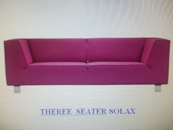 3 Seater Waiting Sofa  Model - Solex