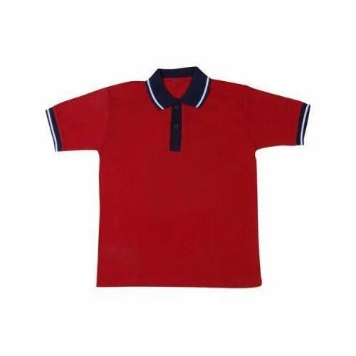 f0465d39 Collar School Uniform T-Shirt, Rs 160 /piece, Felix Fashions | ID ...