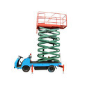 Truck Mounted Scissor Lifts Rental Services