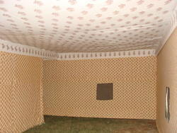 Inner View Military Tent