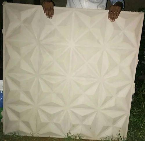 Gypsum 3d Wall Panel