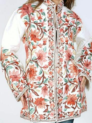 Silk Embroidered Ladies Jackets