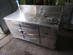 5 Star Stainless Steel Table Top Fridge