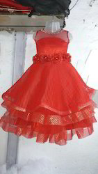 Net Neted Long Gown