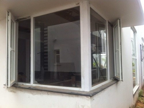 Upvc Glass To Glass Windows Upvc Corner Fixed Windows