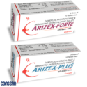 ARIZEX - PLUS/ FORTE (Donepezil HCl And Memantine HCl Tablets )