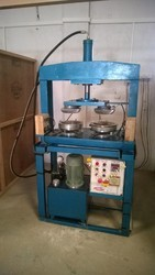 Double Die Semi Automatic Paper Plate Machine
