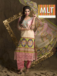 Unstitched Pakistani Printed Suits