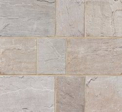 Tiles Outdoor Natural Stone, For Flooring, Thickness: 20 mm