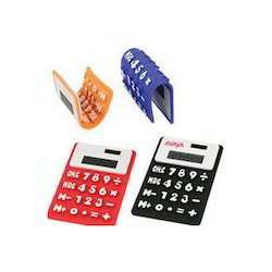 Solar Foldable Silicone Calculator