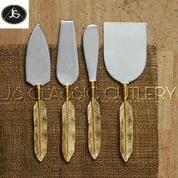 Brass Cheese Set