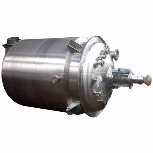 SS Reactor Vessel, Capacity: 20-100 L