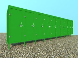 FRP Mobile Toilets Set