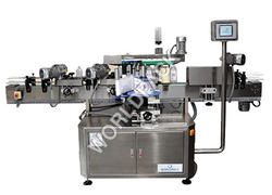 Semi Automatic Front and Back Labeling Machine