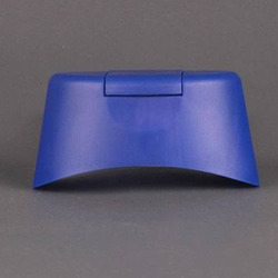 Flip Top Caps Blue PP Shampoos Bottle Cap, Packaging Type: Box