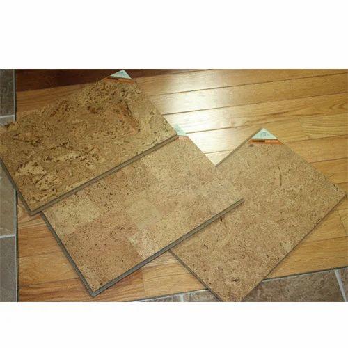 Cork Flooring Pics: Golden Cork Flooring Tiles, Rs 350 /square Feet, Northern