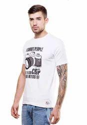 Mens Round Neck T-Shirt (Camera)