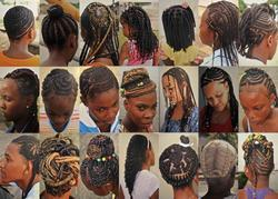 Africa Lines Hair