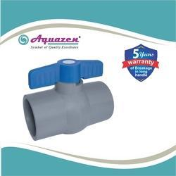 Gray Solid Ball Valve