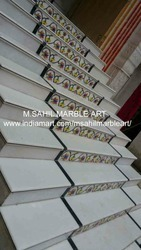 Marble Inlay Staircase