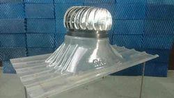 Polycarbonate Turbo Ventilator Base Plate