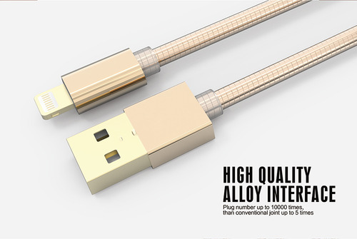 LDNIO Double Sides Micro USB Fast Connector for Iphone