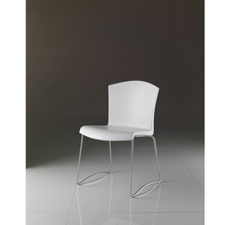Sedia Morbidoni Bianca Frontale Designer Chair
