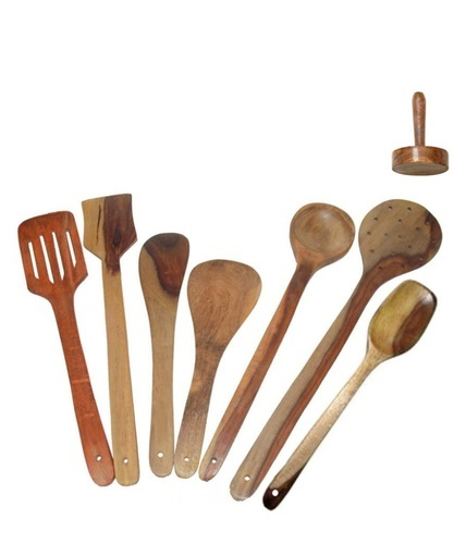 Wooden Ladle View Specifications Details Of Wooden Ladle By Amir