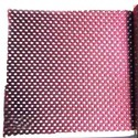 Magenta And Plain Mesh Chair Fabric