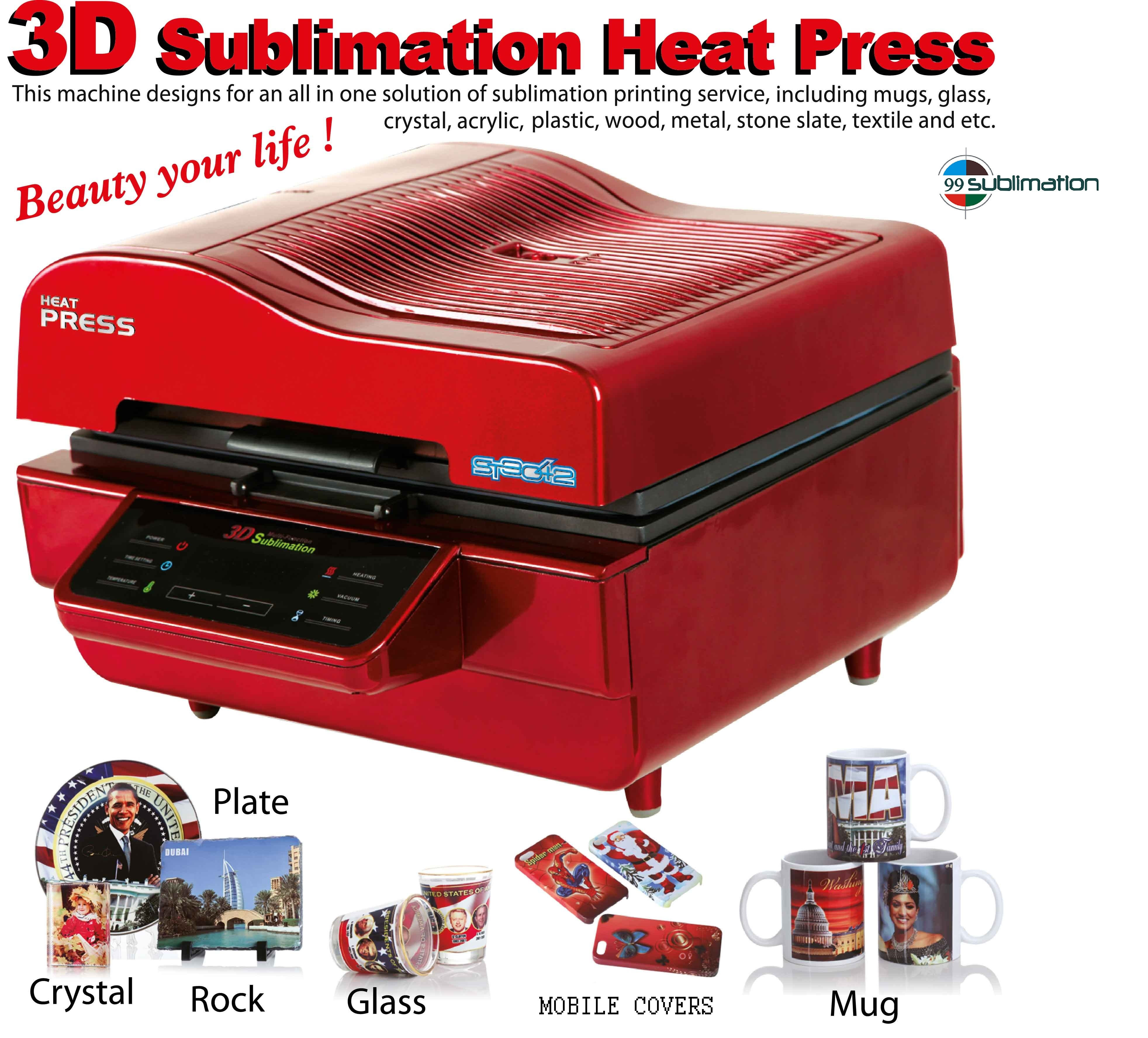 3d Sublimation Vacuum Printing Machine At Rs 28000 Unit