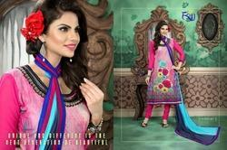 Cotton Suit With Dupatta