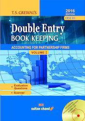 Double Entry Book Keeping English XII Vol. I