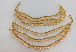 Tezshree Lct,White Bahubali Kaan Chain