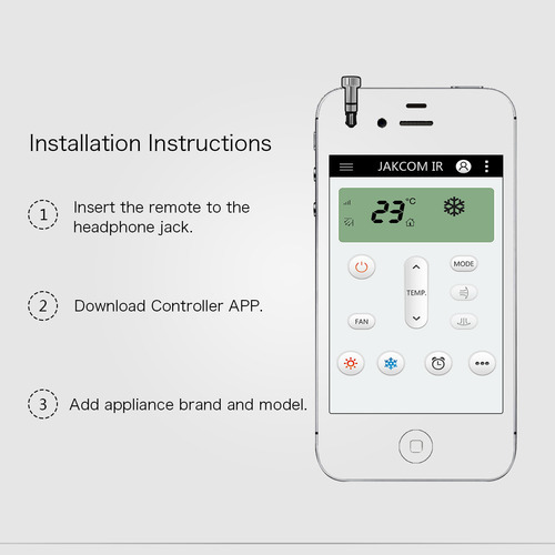 IR (Infrared) blaster Smart Controller for apple phone / tab