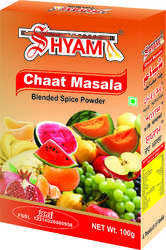 Shyam Dhani Packed Chaat Masala, Packaging Type: Box