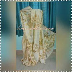 Bishnupur Silk Printed Saree