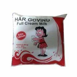 Fresh Full Cream Milk, Packaging Type: Packet, for Home Purpose