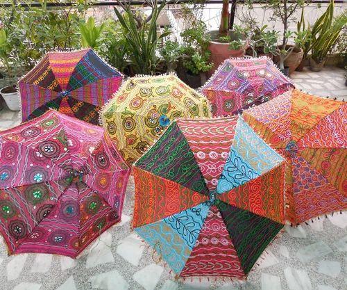 Buy Colorful Design Rajasthani Umbrella Handicraft