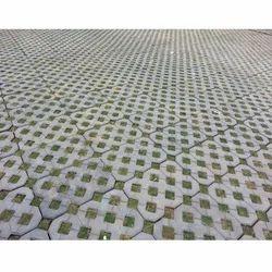 Grass Rubber Paver Block