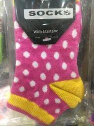 Pink Kids Socks