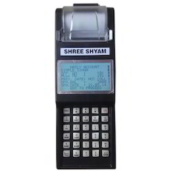 Shree Shyam Handheld Daily Cash Collection Machine