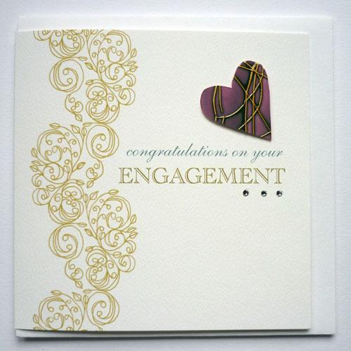 Engagement card at rs 10 piece engagement invitation cards ring engagement card m4hsunfo