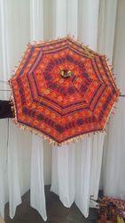 Indian Handmade Cotton Sun Parasol Umbrella