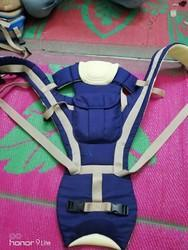 Kidoyzz Blue Red Wine 4 In 1 Baby Carrier