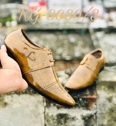 Leather Formal Shoes, Size: 8