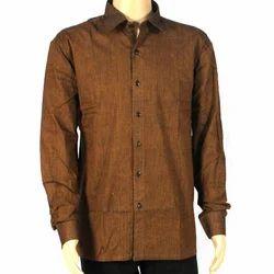 Boys Silk Men's Cotton Formal Shirt