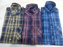 Cotton Check Casual Shirts, Size: M And L